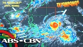 WATCH: Typhoon 'Ompong' enters PAR | 12 September 2018