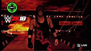 WWE 2K18 Kane New Attire Entrance!!!