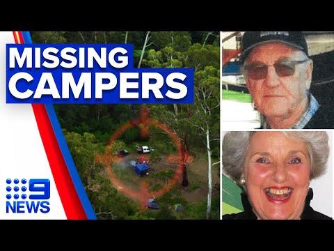 New lead in missing elderly campers last year | 9 News Australia
