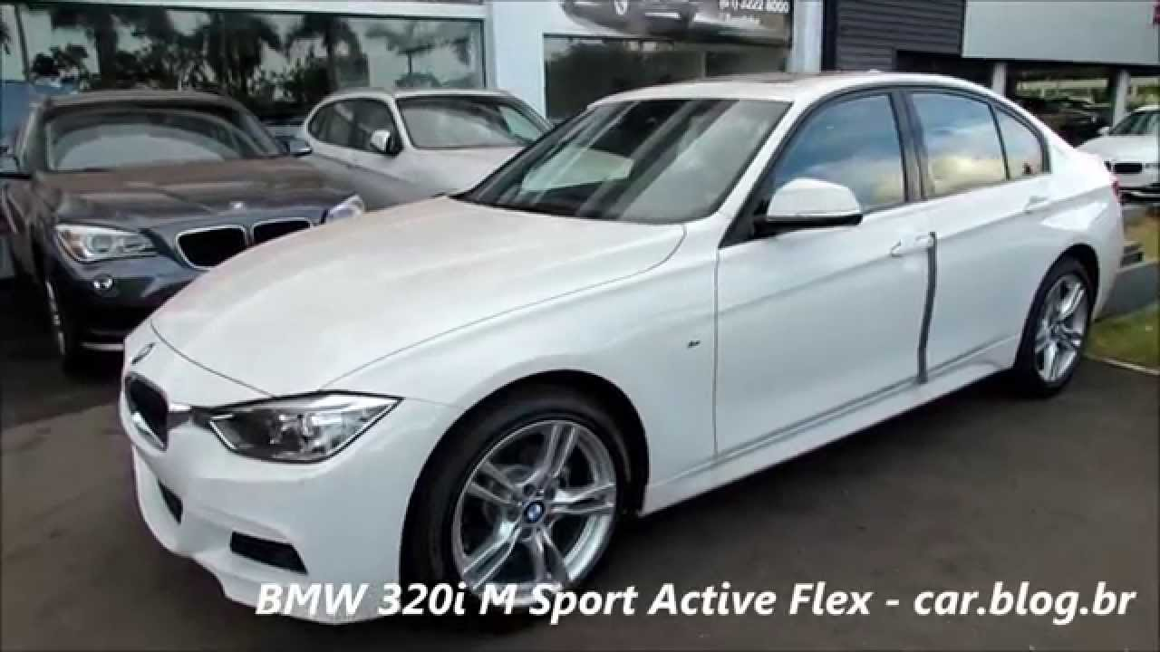bmw 320i m sport 2015 active flex detalhes. Black Bedroom Furniture Sets. Home Design Ideas
