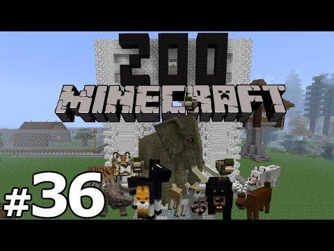 Minecraft Zoo Build - Part 36 - DUMB POPSICLES
