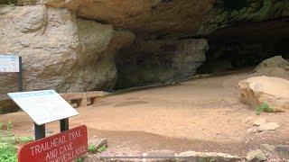 Cave Hiking Petit Jęan State Park Arkansas
