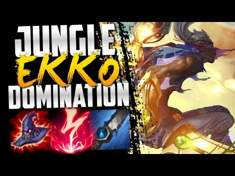 Ekko Jungle is so much stronger than Ekko Mid!