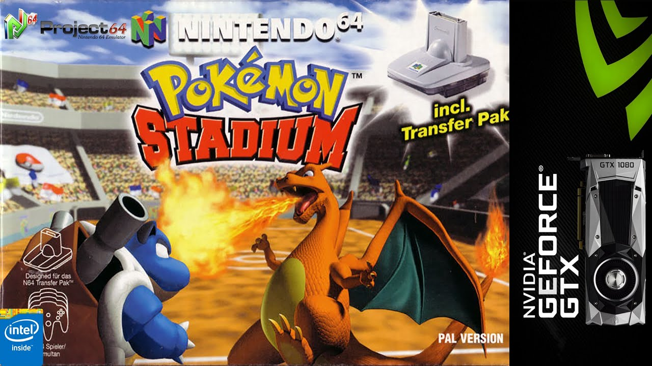 how to play pokemon stadium 2 on project 64