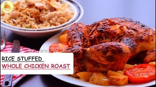 Rice Stuffed Whole Chicken Roast | Women