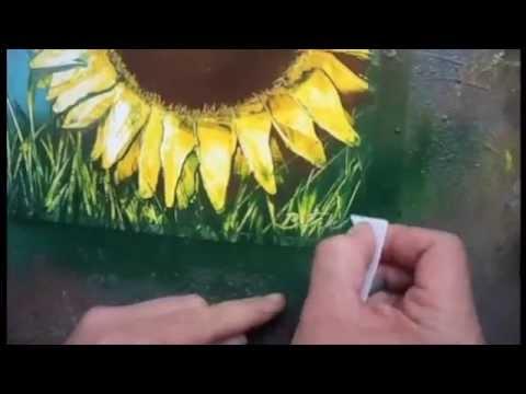 SPRAY PAINT ART TECHNIQUES BY BRENT WILLIS
