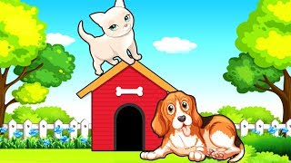 Кошка и Собака - Мультик про домашних животных - Мультфильмы 2018