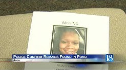 Authorities: Foot in Indiana pond was that of missing woman