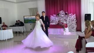 Танец жениха и невесты. Свадьба. Первый танец. Настя и Женя 08.07.2017.