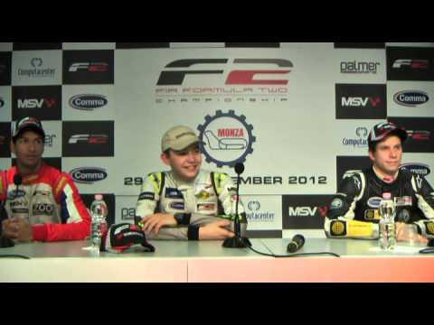 2012 F2 - Press Conference, Monza Q1