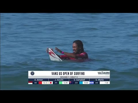 Vans US Open Of Surfing - Men's, Men's Qualifying Series - Round 1 Heat 3