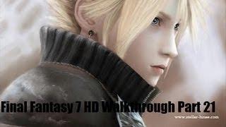 Final Fantasy 7 Complete Walkthrough HD Part 21 (PC) - Shinra Cargo Ship