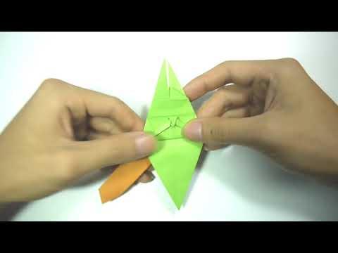 DIY dragon Origami Paper   Very Easy