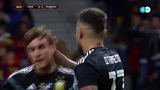 Spain Vs Argentina 6 1 All Goals & Highlights Resumen y Goles 27 03 2018 HD HD