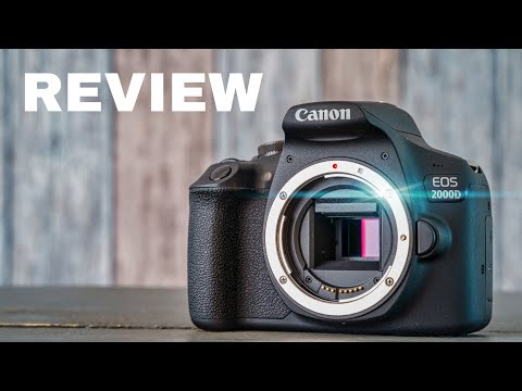 Canon EOS 2000D Rebel T7 | Review of the CHEAPEST DSLR