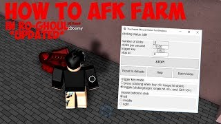 How To AFK Farm In Ro-Ghoul! *UPDATED* ROBLOX