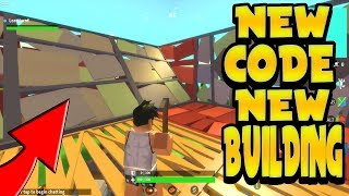 INSANE *NEW* BUILDING AND CODES UPDATE IN ISLAND ROYALE!