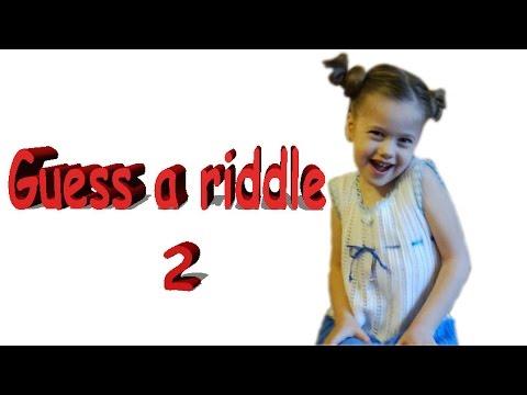 Загадки на английском для малышей. Часть 2. Guess a riddle!