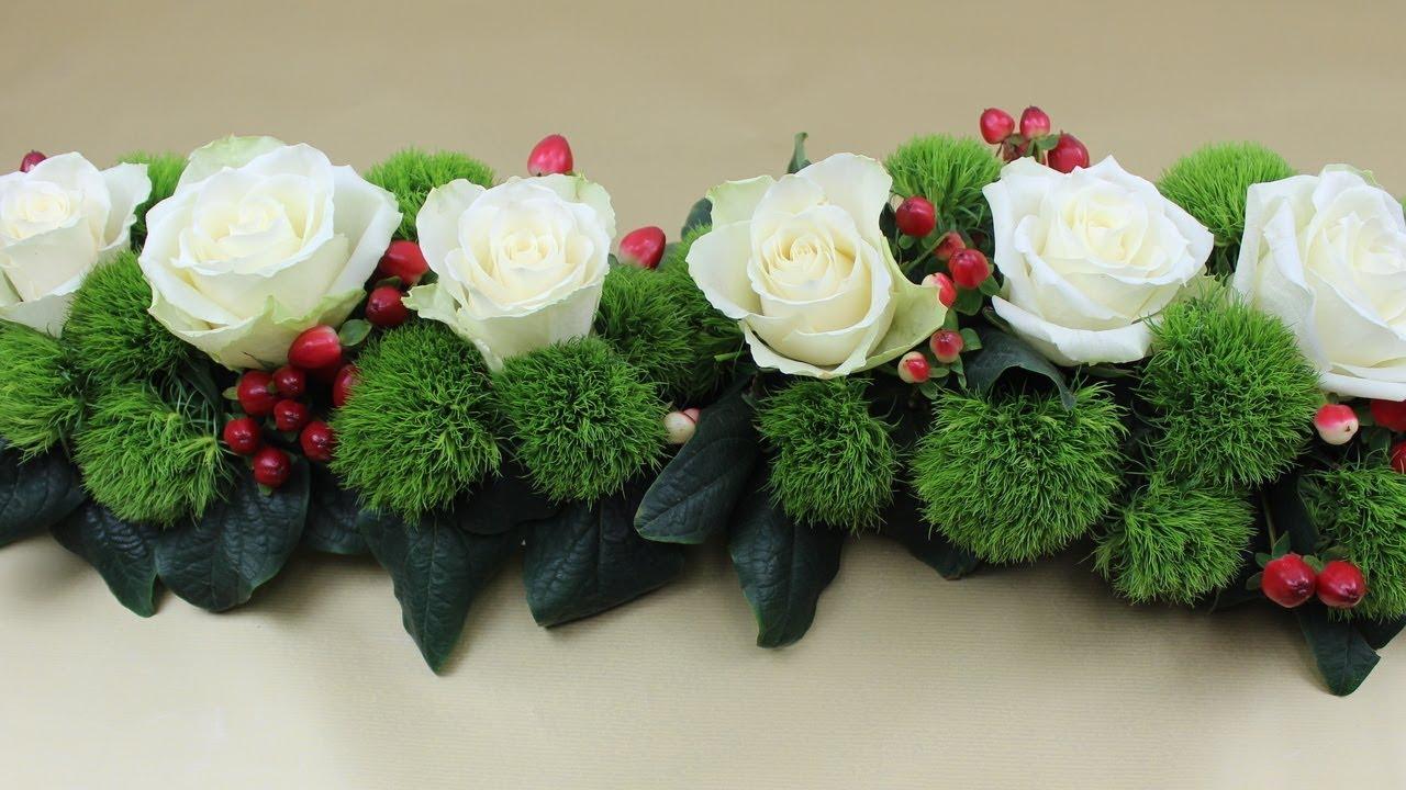 Tischdeko Mit Blumen Selber Machen  Wohndesign
