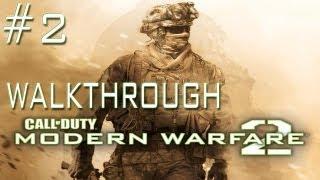 Call of Duty: Modern Warfare 2 -  Walkthrough - Mission 2 Team Player (PC/PS3/Xbox 360)