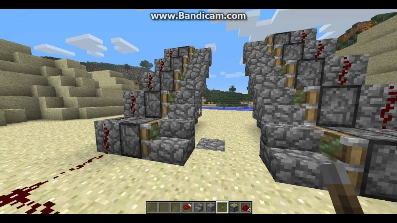 Minecraft Automatische Treppe Bauen Tutorial German Youtube