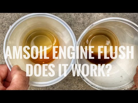 Amsoil Engine Flush: Does it work?
