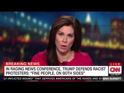 Trump SHOCKS the world by DEFENDING white supremacist in his WILD press conference