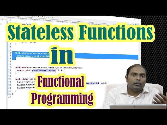Java 8#3 Stateless Functions in Functional Programming | Java9s.com