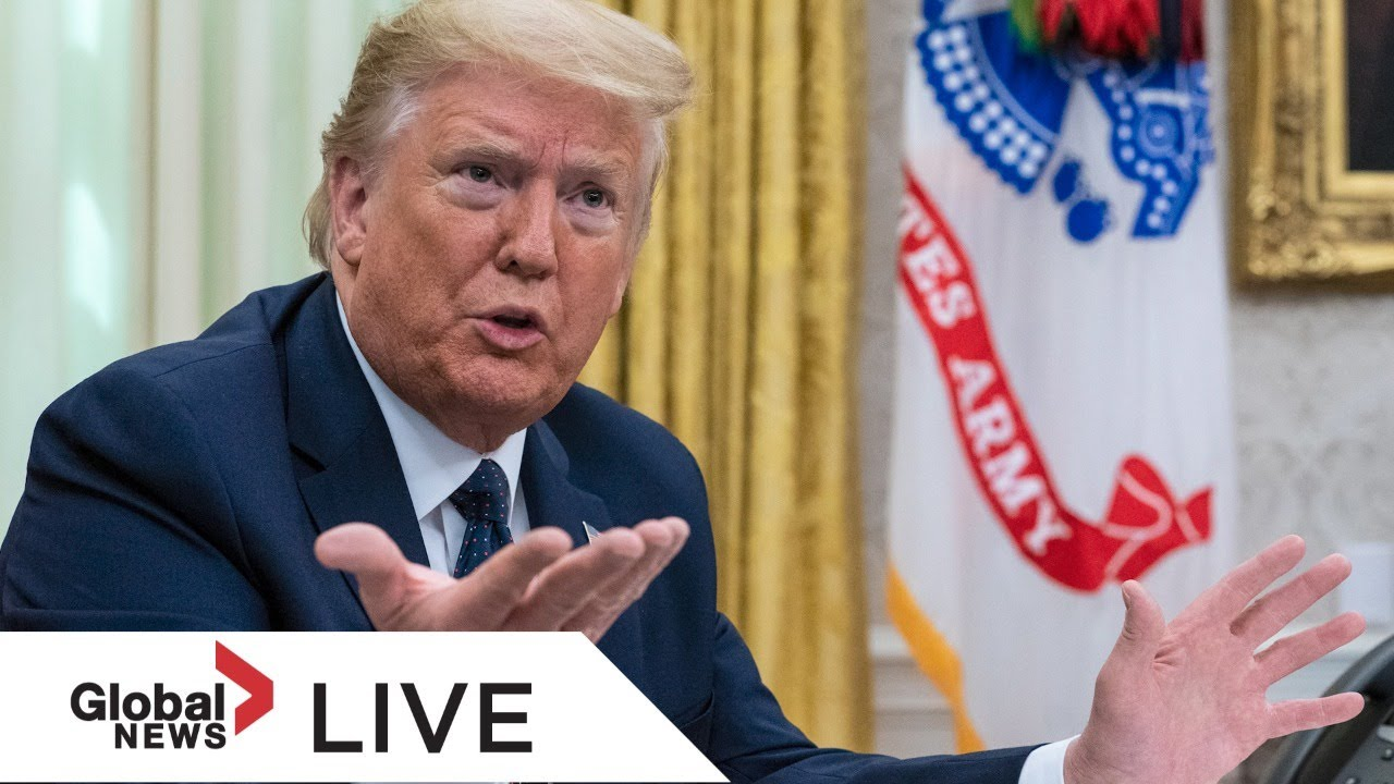 U.S. President Donald Trump holds news conference at the White House | LIVE 29.05.2020
