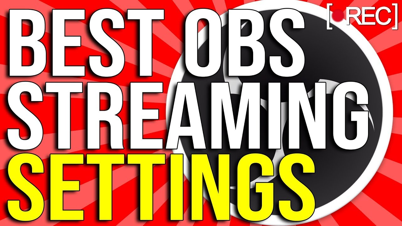 Best OBS Live Streaming Settings 2020 ! ?1080p With 60 FPS! (NO LAG)