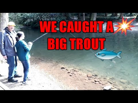 RUBIE'S LIFE IN OREGON: FISHING FOR RAINBOW TROUT IN THE FARM