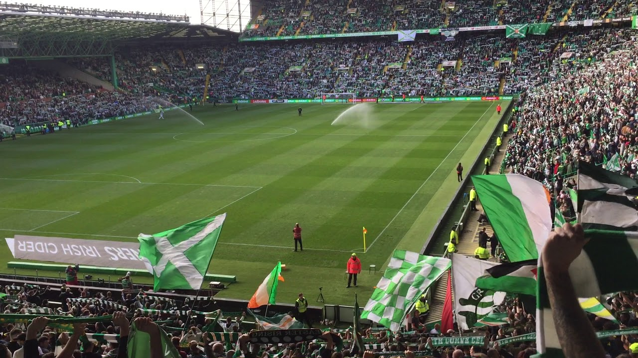 Celtic Fans | You'll never walk alone (YNWA) Celtic vs Hibs