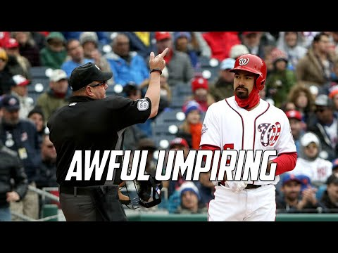 MLB | Awful Umpiring
