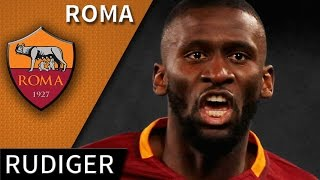 Antonio Rüdiger • 2016/17 • Roma • Best Defensive Skills & Goals • HD 720p