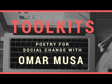 Toolkits Live: Poetry for Social Change with Omar Musa