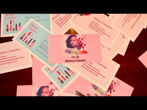 HOW TO MAKE CUSTOM BUSINESS CARDS AT HOME