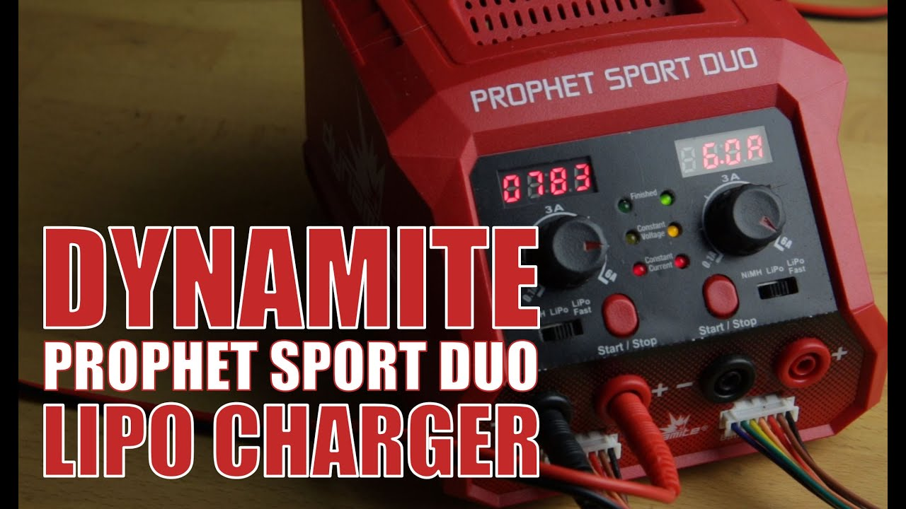 Dynamite Prophet Sport Duo Lipo Charger Youtube