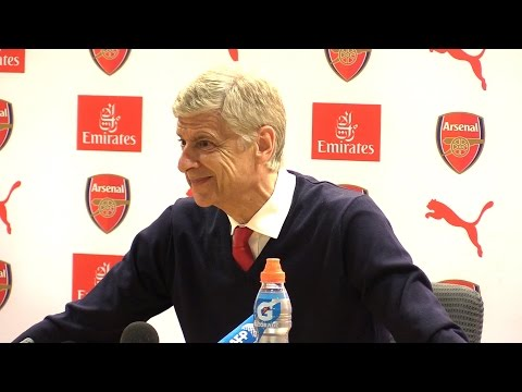 Arsenal 3-1 Everton - Arsene Wenger Full Post Match Press Conference