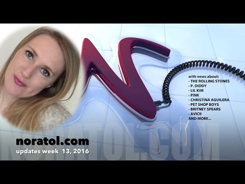 noratol.com update, week 13 2016 - music news and music blogs