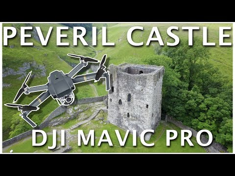 Peveril Castle - Castleton Peak District  - DJI Mavic Pro 4K Footage