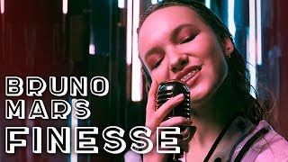 Смотреть клип Bruno Mars - Finesse | Cover By Arina Danilova A 14-Year-Old