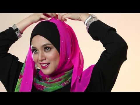BETSY shawl styling tutorial by Al-Humaira Contemporary   FunnyDog.TV
