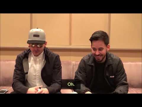 Linkin Park Mike Shinoda Chester Bennington The Newlyweds Game rus sub русские субтитры