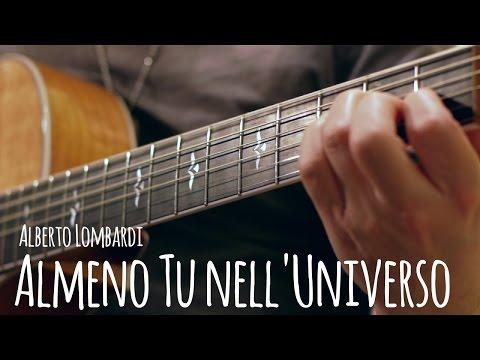 Almeno tu nell'universo - Fingerstyle arr Alberto Lombardi
