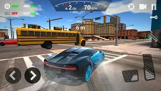 Car Driving Simulator 3D - Best Car Unlocked Bugatti GamePlay Android