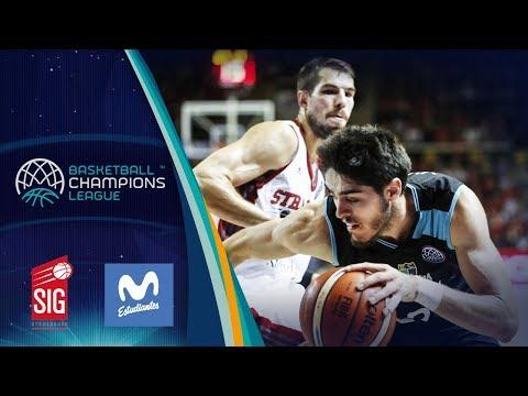SIG Strasbourg v Movistar Estudiantes - Full Game - Basketball Champions League
