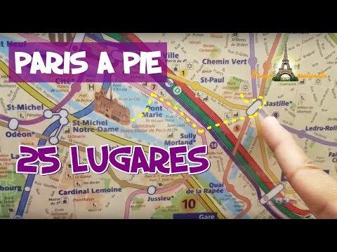 LE MARAIS PARIS A PIE - 25 Lugares desde Notre Dame-Plaza la Bastilla hasta Plaza de Vosges
