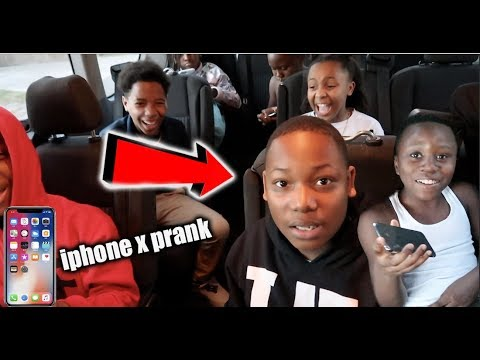 SURPRISED THE GOOD KIDS WITH FAKE iPHONE X'S & ADDED A NEW KID!