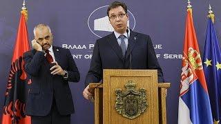 Streit um Kosovo: Albanischer Regierungschef sorgt für Verärgerung bei Serbienbesuch