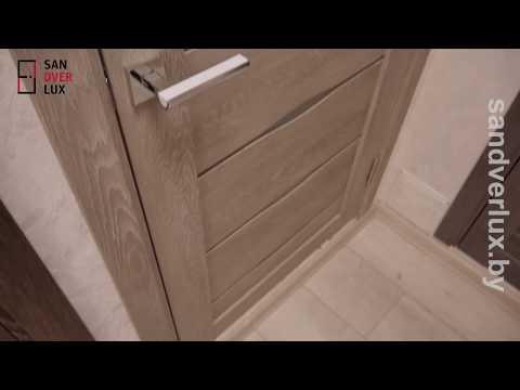 Обзор межкомнатной двери из экошпона D3 , DEFORM - Sandverlux.by